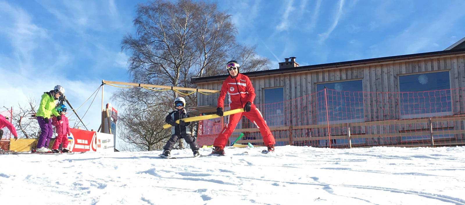 Skifahren auf dem Bischofsberg