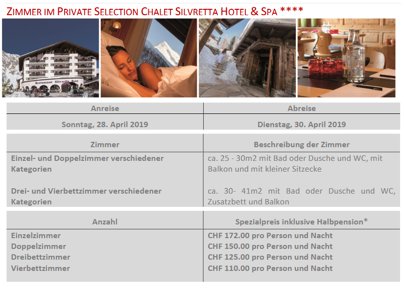 Silvretta Hotel Samnaun