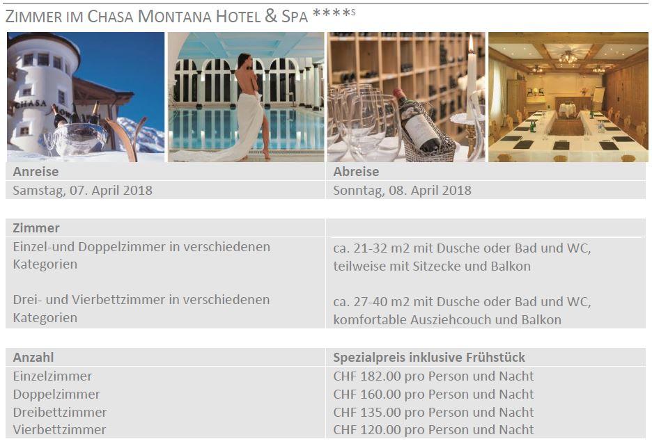 Hotelofferte Zegg Hotel Samnaun